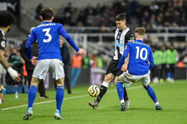 Leicester có chiến thắng dễ dàng trước Newcastle dù vắng Vardy