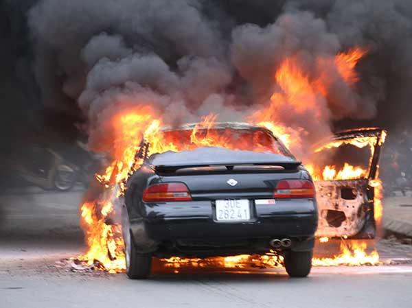 Chiêm bao thấy ô tô bị cháy nên đánh lô đề con bao nhiêu?