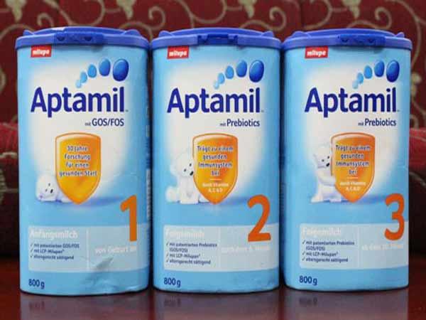 Bảng giá sữa Aptamil mới nhất tháng 5/ 2020