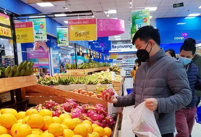 Giá nông sản hôm nay tại các siêu thị lớn