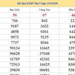 Dự đoán kết quả XSMN Vip ngày 20/10/2020