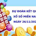 Dự đoán kết quả XSMN Vip ngày 26/11/2020