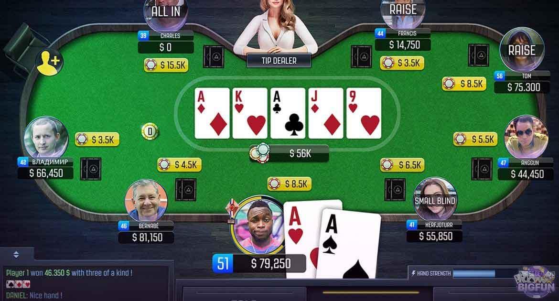 Poker còn là game bài xuất hiện với tần suất dày đặc trên phim ảnh