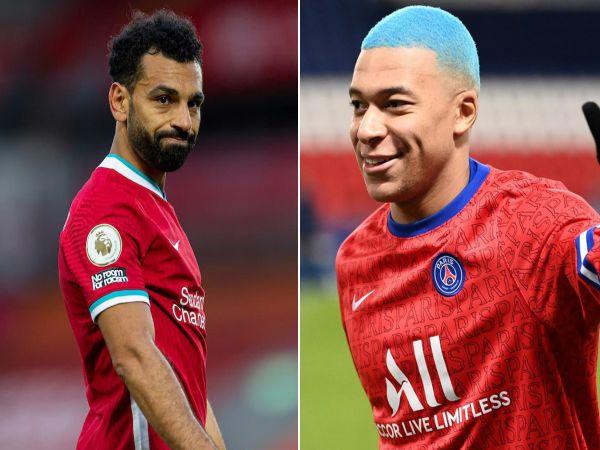 Bóng đá quốc tế tối 20/10: PSG nhắm chiêu mộ Salah thay Mbappe