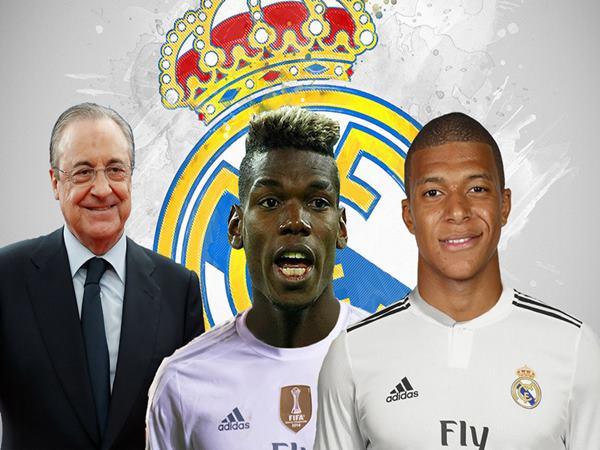 Chuyển nhượng BĐ 20/10: Real Madrid ký cả Mbappe và Pogba
