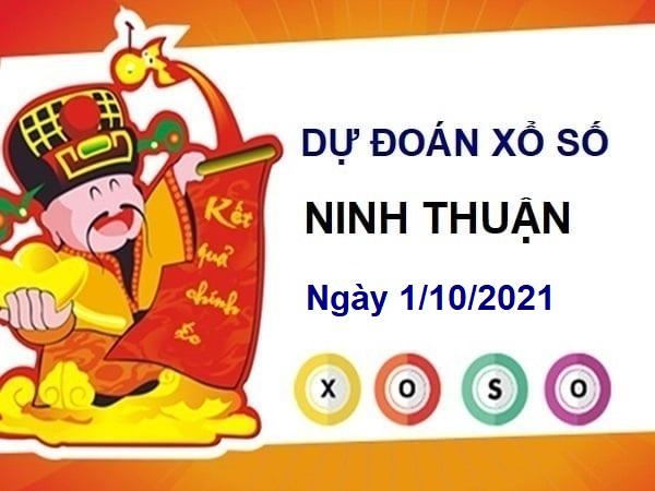 Mở bát dự đoán xổ số Ninh Thuận ngày 1/10/2021 hôm nay
